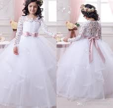 dress for communion sleeve communion dress for 2017 lace gown