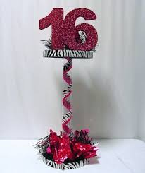 sweet 16 table centerpieces how to make pedestal sweet 16 centerpieces awesome events