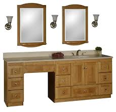 Big Lots Makeup Vanity Bedroom Graceful Bathroom Vanity Addl Makeup Area Oak Terrace
