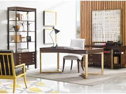 Dining Room Desk Stanley Furniture Crestaire Mid Century Modern Vincennes Writing