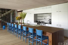 small kitchen with island ideas 25 designer blue kitchens blue walls u0026 decor ideas for kitchens
