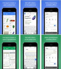 Google Spreadsheets App Google Releases Standalone Docs And Sheets Apps To Compete With Office