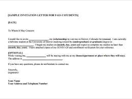 doc 585620 invitation letter for us visa u2013 sample invitation