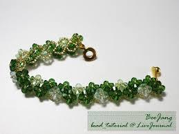 beads bracelet designs images Four leaf clover beaded bracelet pattern bead patterns