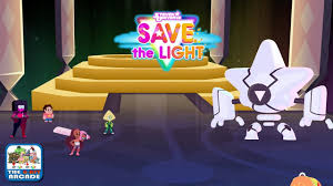 save the light game steven universe save the light the light warrior stands in the