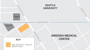 Madison Valley Seattle Map by Whole Foods To Open Store In New First Hill Apartment Tower At