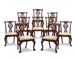 Chippendale Dining Room Table Chippendale Style Dining Chairs Furnishing Since 1912 M S