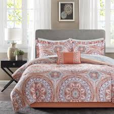 home design comforter home design the most brilliant coral color comforter