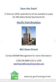 so where u0027s the announcement for 461 dean b2 affordable housing