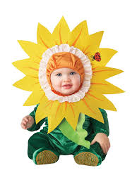 amazon com incharacter baby silly sunflower costume clothing