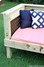 how to build a daybed build a daybed outdoor daybed simple build make it for or less build