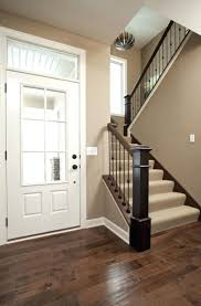 love the color of walls for entry way maybe make thee door apaint