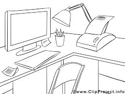 dessin de bureau bureau dessins gratuits économie à colorier économie