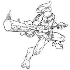teenage mutan gallery one ninja turtles coloring pages at children