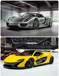 porsche hypercar which hypercar do you like better mclaren p1 bottom photo or