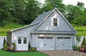 two car garage 24x24 two car garage with lean to in millersville md