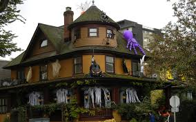 halloween house decor