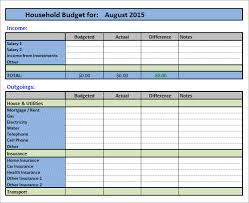 sample household budget 10 documents in pdf word