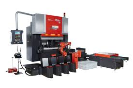 electric press brake cnc robotic eg ar amada
