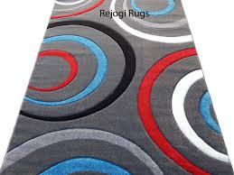 6x8 Area Rug Contemporary Carpet Woven 6x8 Area Rug Black Gray White Actual