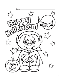 coloring pages halloween www bloomscenter com