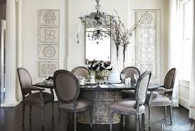 gray dining room table decorating ideas dixon hbx eclectic