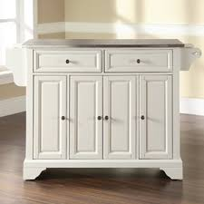 Stainless Steel Prep Table With Drawers Stainless Steel Kitchen Islands U0026 Carts You U0027ll Love Wayfair