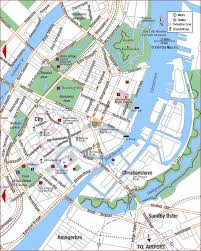 map of copenhagen road map of copenhagen center city copenhagen denmark