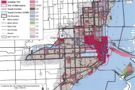 Miami City Map by It May Finally Be Easier To Build Small Infill Buildings In Miami