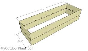 waist high raised garden bed plans myoutdoorplans free