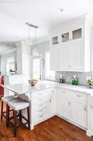 nice kitchen cabinets white custom white shaker cabinets for a