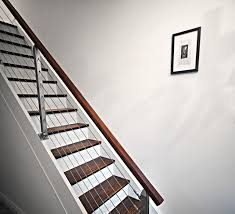 Replace Stair Banister Decor Winsome Contemporary Stair Railing With Brilliant Plan For