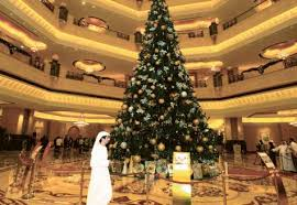 most expensively dressed tree emirates palace sets