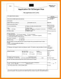Agile Resume Schengen Visa Application Download Schengen Visa Application Form