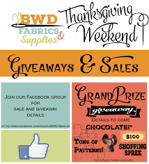 bwd fabrics thanksgiving week 2015 grand prize giveaway sewing