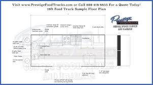 custom food truck floor plan samples custom food truck builder