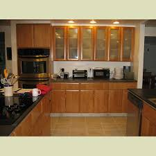 glass kitchen cabinet wood vintage plain panel door chestnut frosted glass kitchen