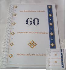 einladungen zur diamantenen hochzeit diamanthochzeit festzeitung diamantene hochzeit geschenk