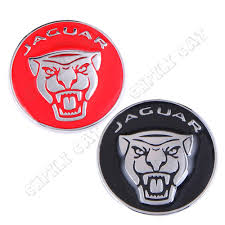 jaguar logo 1pcs 42mm jaguar logo car steering wheel emblem alloy sticker body