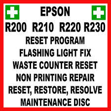epson r230 waste ink pad resetter free download printer scanner for epson stylus photo ebay