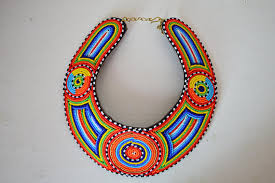 bib necklace beaded images African maasai beaded collar necklace beaded bib necklace jpg