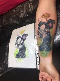 17 best boston terrier tattoos images on pinterest piercings