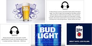 how many carbs in bud light beer bud light s simple message about simple beer market track