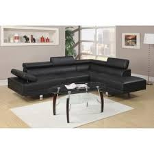 Sectional Sofa Black Black Sectional Sofas For Less Overstock