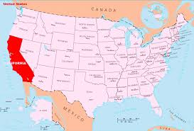 Arizona State Map With Cities by California States Map California Map