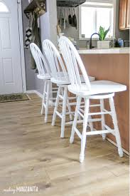 how to chalk paint bar stools with general finishes chalk paint