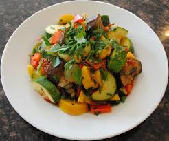 meatless monday ratatouille u0026 cold mushroom salad catharsis