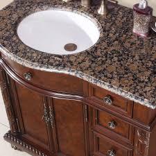 Bathroom Vanity With Drawers On Left Side Silkroad Exclusive Hyp 0213 Bb Uwc 36 L Victoria 36