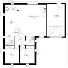 plan plain pied 3 chambres le impressionnant plan maison plain pied 3 chambres pour désir