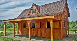 backyard horse barns horse barns miniature barns 14x28 mini raised roof jpg itok